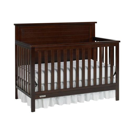 Fisher-Price Lucas Convertible Crib, Light Espresso