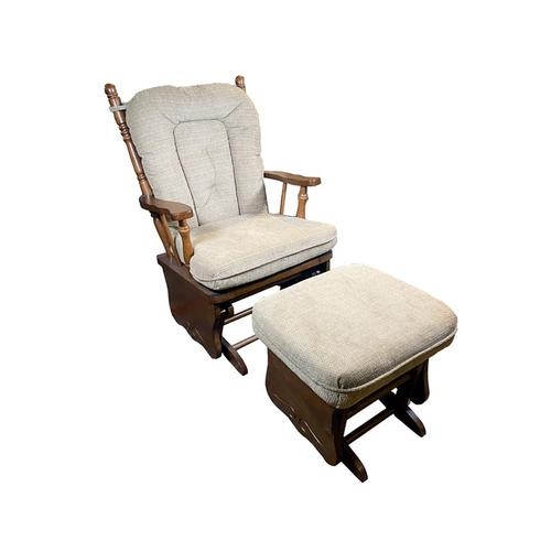 Best Home Furnishings - KNOX Glider Rocker And Ottoman #211567