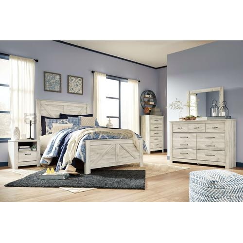 Packages - Bellaby Queen Bed Dresser Mirror Chest and Night Stand