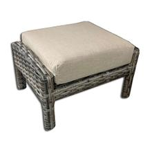 Inverness Wicker Ottoman