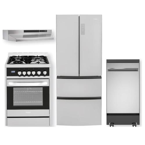 Compact Stainless Steel Kitchen Package- Open Box