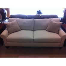 """See Details - Thurman Leather Sofa 82"""""""