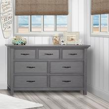 Evolur Belmar Double Dresser- Rustic Grey