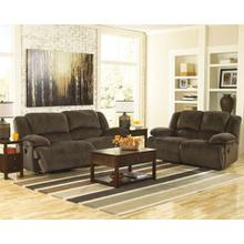 Toletta- Chocolate Reclining Sofa and Loveseat