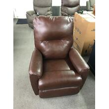 Neptune Side Kick Walnut Recliner