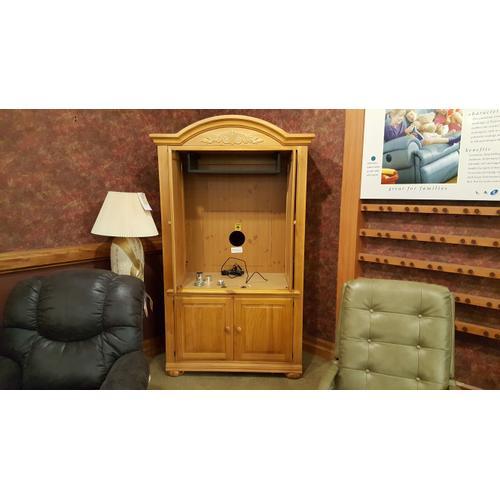 Bassett Furniture - Entertainment Center -Manhattan