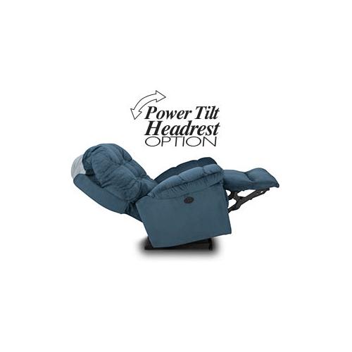 BROSMER POWER ROCKER RECLINER w/POWER TILT HEADREST in Platinum     (9MZ87-1-20573,40080)