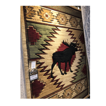 Cottage Area Rug New Moose Wilderness 5'3x7'6