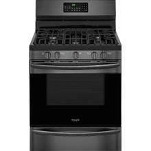 Frigidiare Black Stainless Steel Gas Range with Convection
