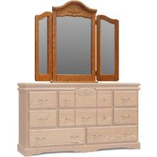 See Details - Vintage Wing Mirror
