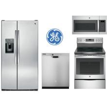 See Details - GE 4 Piece Side by Side Package