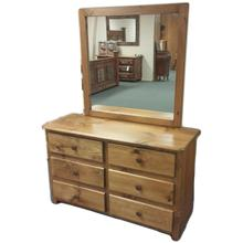 6-Drawer Dresser with Mirror