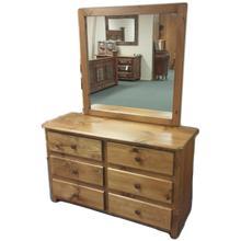 See Details - 6-Drawer Dresser with Mirror