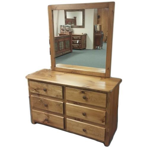 6-Drawer Dresser with Mirror