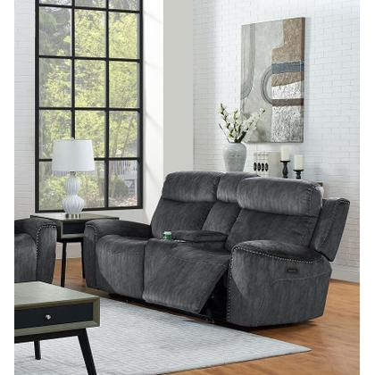 Kagan Dual Recliner Loveseat - Shadow Gray