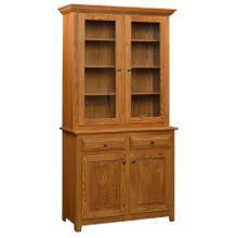 See Details - Columbia Amish Custom 2 Door Hutch