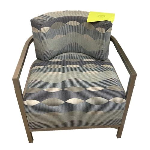 Craftmaster Accent Chair with Metal Arms