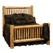 See Details - Cedar Small Spindle Bed