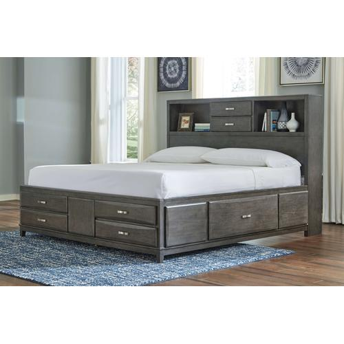 Caitbrook Storage Bed - King