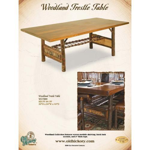 Woodland Trestle Table