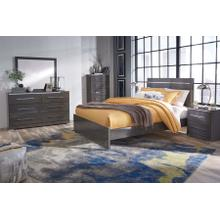 Steelson - Queen Panel Bed, Dresser, Mirror, & 1 x Nightstand