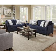 4330 Prelude Navy Sofa and Loveseat