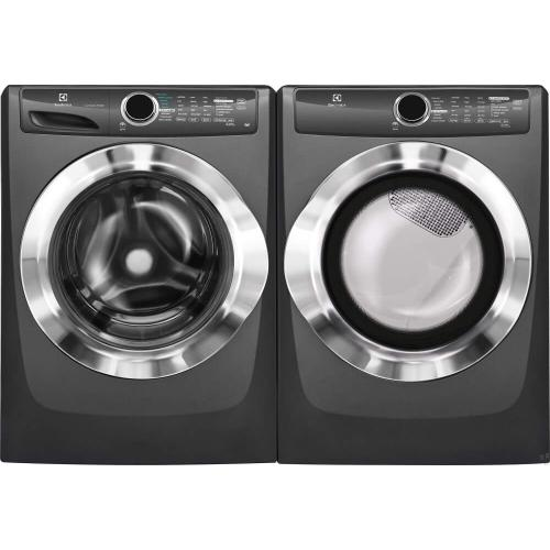 Electrolux Laundry Package With Electric Dryer In Titanium