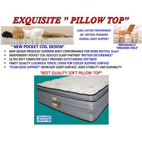 Exquisite Pillow Top - Full