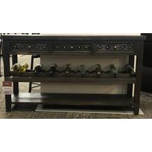 Console Table W/ removable Wine Rack