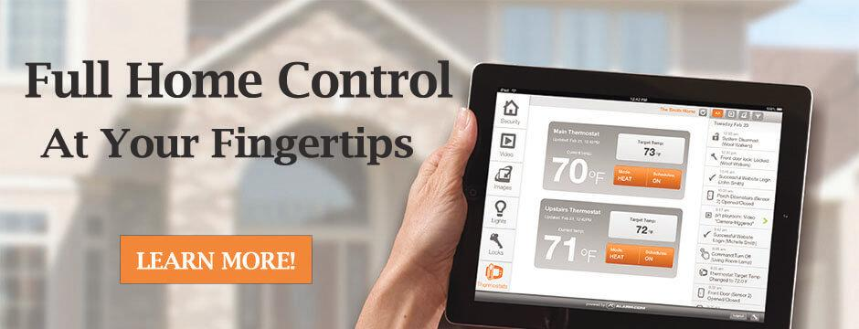 Full home control at your fingertips