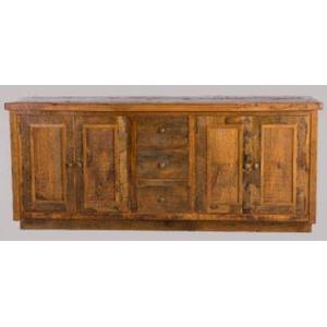 Green Gables - Stony Brooke 4 Door 3 Drawer Vanity with Wood Top