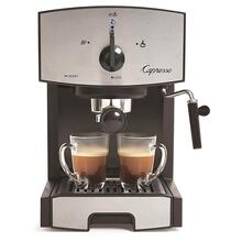 See Details - Capresso EC50 Pomp Stainless Steel Espresso & Cappuccino Machine