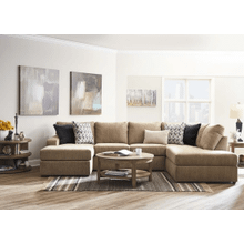 3 Piece Sectional - Reed Tan