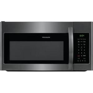 1.8 Cu. Ft Black Stainless Steel Over the Range Microwave