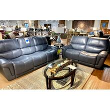 Stallion Marine Leather Power Sofa & Loveseat