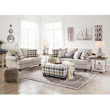 Meggett- Linen Sofa, Loveseat and Ottoman