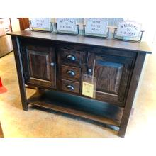 """See Details - 49"""" SIDEBOARD in CHARCOAL FINISH      (33-CA,53030)"""