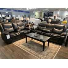 See Details - Generation Trade Emerson Black Reclining Sofa and Loveseat