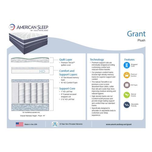 American Sleep - Grant - Plush