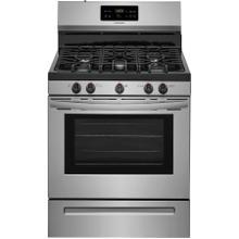 See Details - Frigidaire 5-Burner 5-cu ft Self-Cleaning Freestanding Gas Range