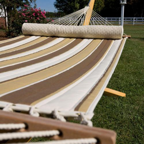 Quilted Hammock - Rio Birch Stripe