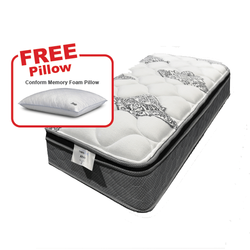 Buy the THERAPEDIC Twin Mattress, get a FREE pillow!
