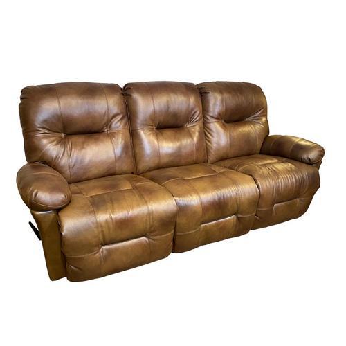 ZAYNAH Leather Recliner Loveseat #217007