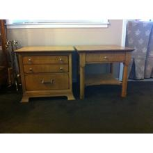 See Details - Lexington 970 Chairside table and 941 Lamp table