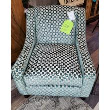 View Product - Fusion Teal Accent Chair