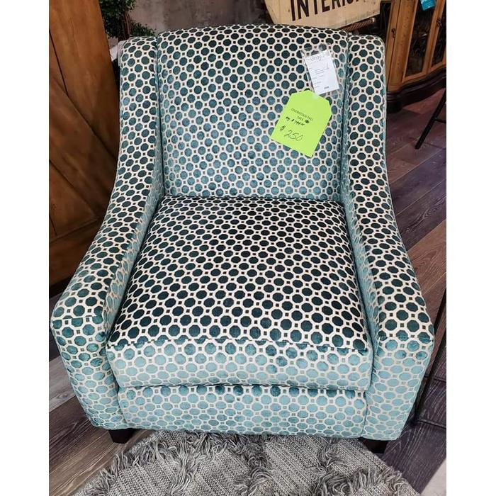 Fusion Furniture - Fusion Teal Accent Chair