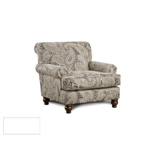 Capernicus Cobblestone Accent Chair & Ottoman