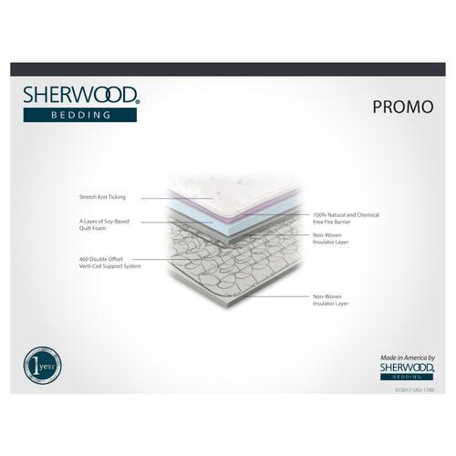 Sherwood Bedding - Promo Full Mattress