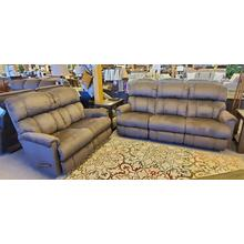PINNACLE SOFA AND LOVESEAT SET - 1 ONLY IN THIS FABRIC!