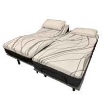 Queen Hybrid Mattress with Adjustable Base